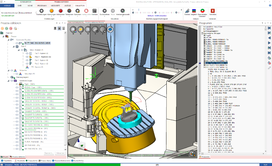 Logo Software for product simulation - NCSIMUL Machine