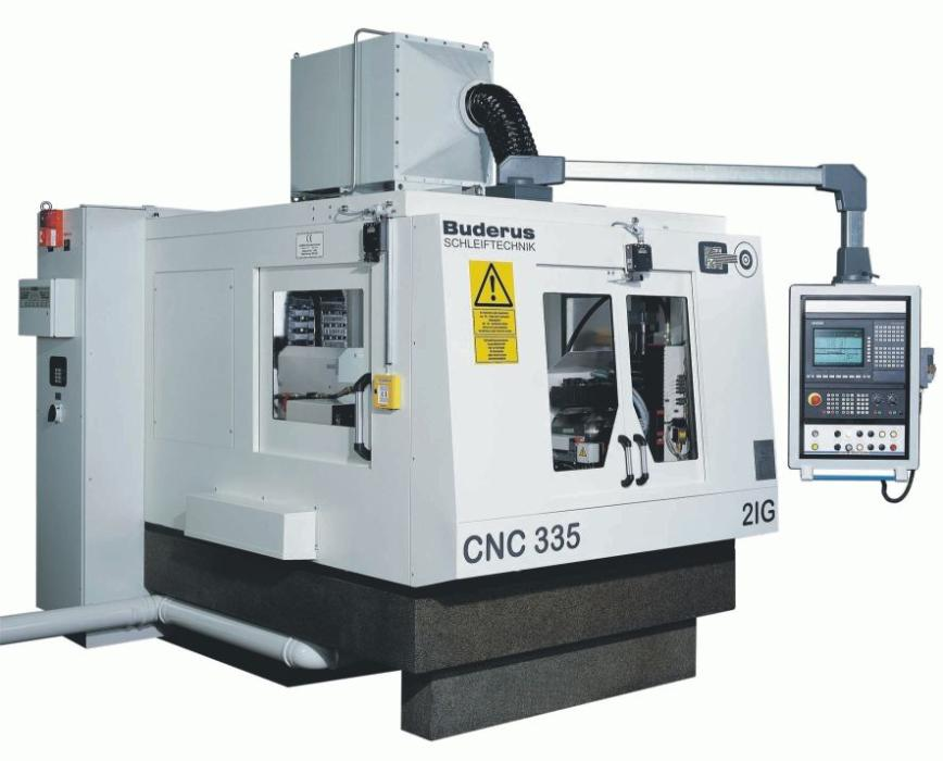 Logo Thread grinding machine - BUDERUS CNC 335 G