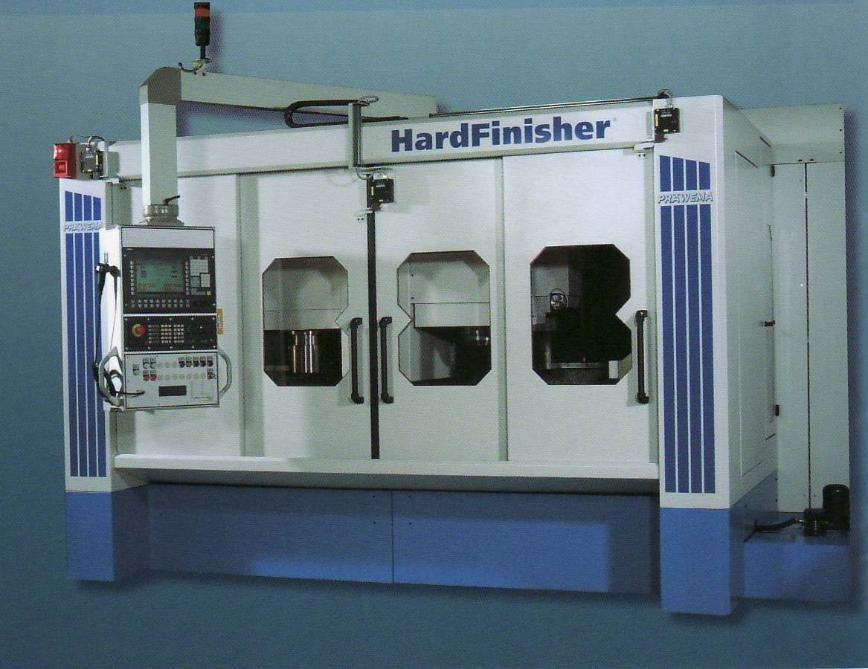 Logo Verzahnungs-Komplettbearbeitungsmaschine - PRÄWEMA HardFinisher®