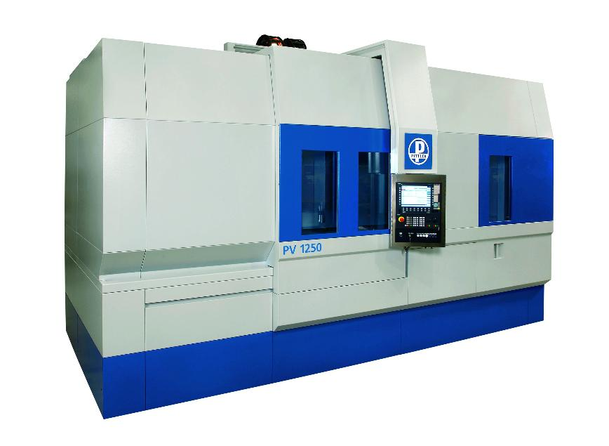 Logo Complete machining center - PITTLER PV³