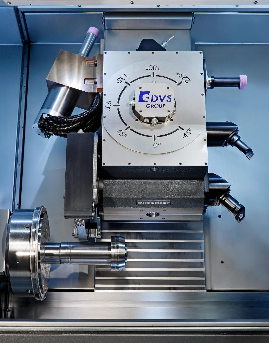 Logo Dreh- und Schleifmaschine zur Hartfeinbearbeitung - DVS UGrind