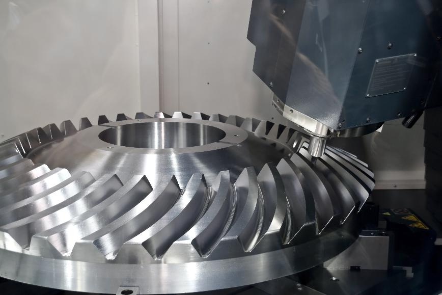 Logo  - 5 axis simultaneous milling