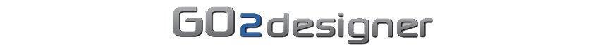 Logo GO2designer ihre Softwarelösung für die Arbeitsvorbereitung