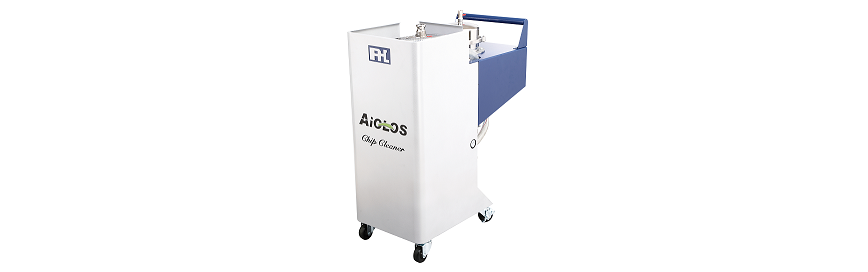 Logo Chip disposal system - AiOLOS Chip Cleaner