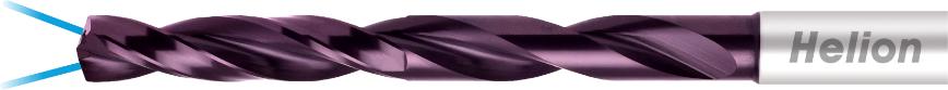 Logo Spiralbohrer / Vollbohrer - SOLID CARBIDE DRILL 8XD INTERNAL COOLANT