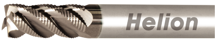 Logo Schaftfräser - SOLID CARBIDE ROUGHING END MILL Z4-5 · 42°