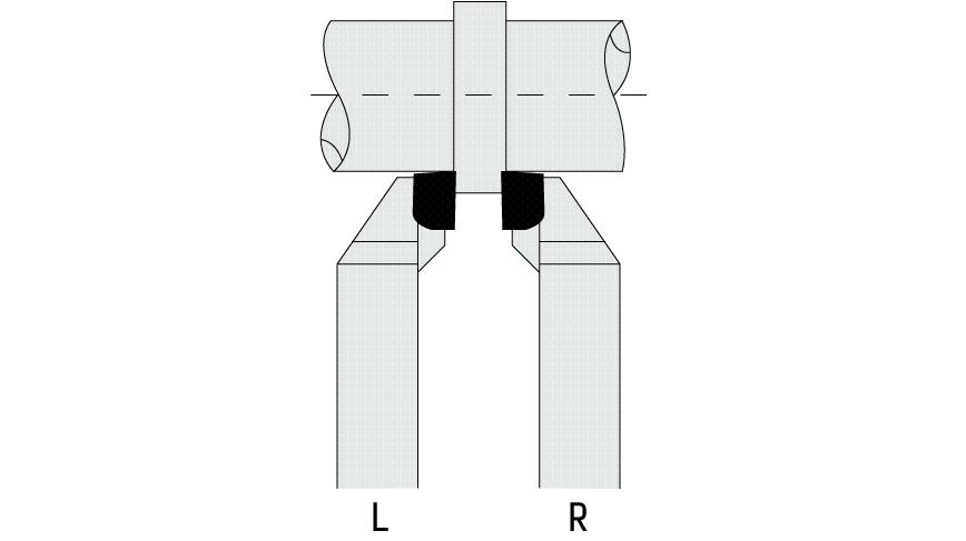 Logo Drehling - TURNING TOOL 90° DIN 4980/ISO 6