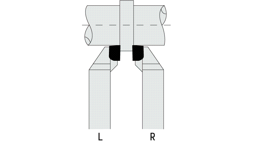 Logo Tool bit - TURNING TOOL 90° DIN 4980/ISO 6