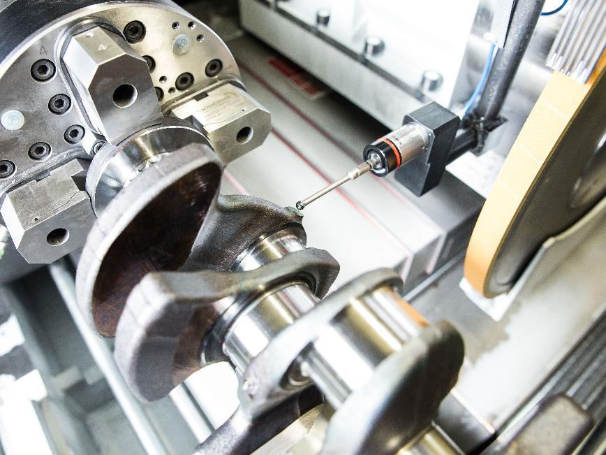 Logo Schleifmaschinen für Verbrennungsmotor Komponenten