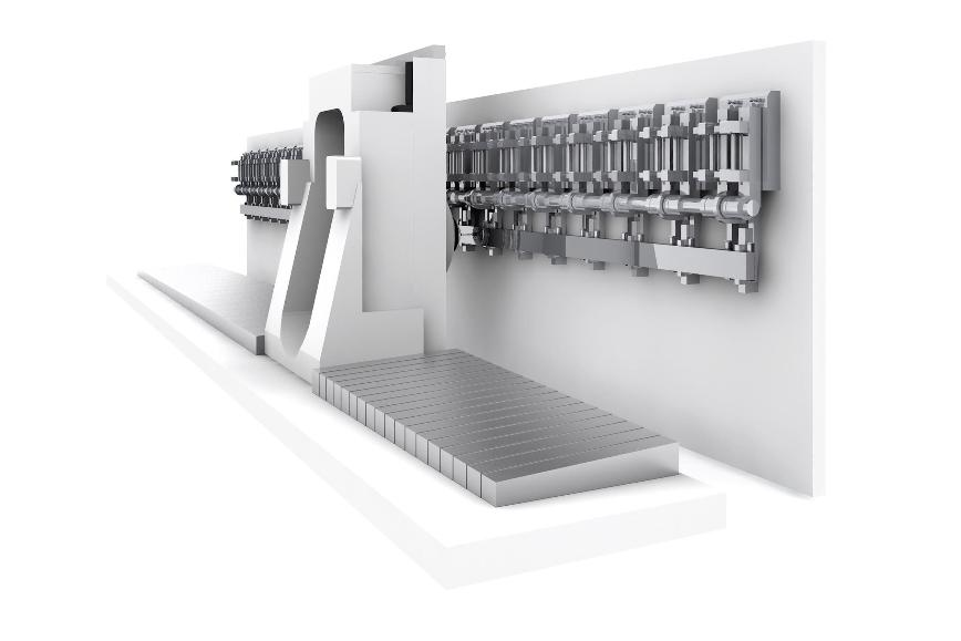 Logo High speed machining centre - Scharmann ECOLINER