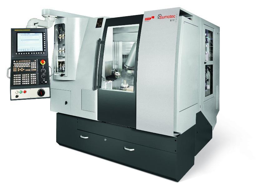 Logo High speed machining centre - Bumotec S191 Linear