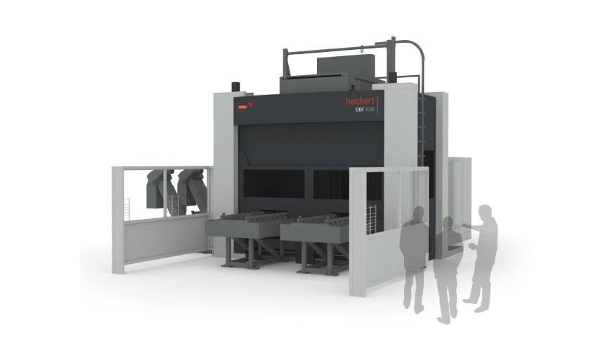 Logo Horizontal machining centre - Heckert DBF 1000 / 1250