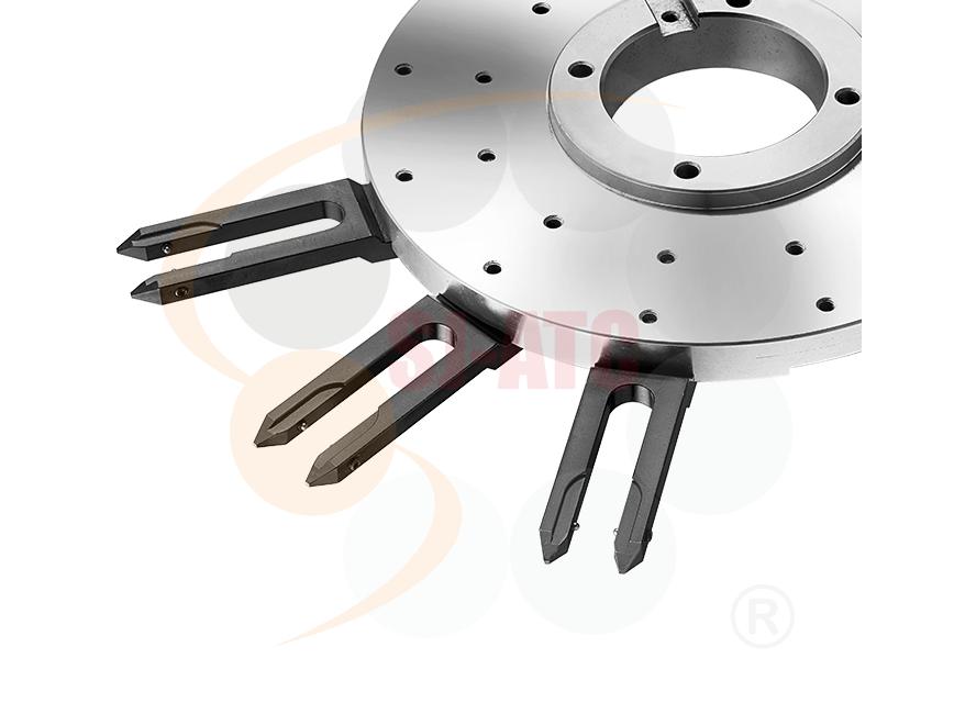 Logo Werkzeugwechsler und -speicher - LV - ARMLESS TYPE TOOL MAGAZINE