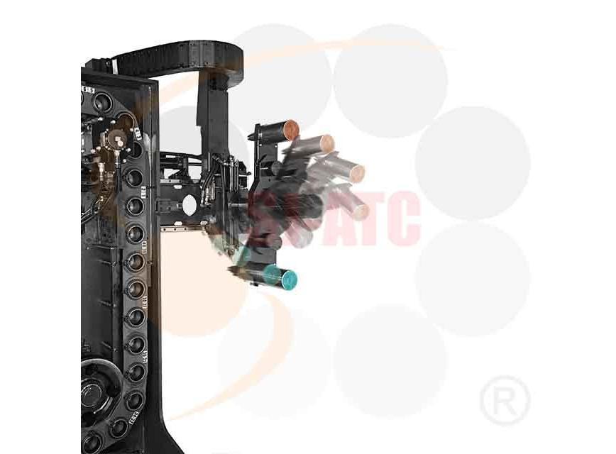 Logo For Horizontal Machine - HC - TOOL MAGAZINE WITH HYDRAULIC ROBOTIC ARM