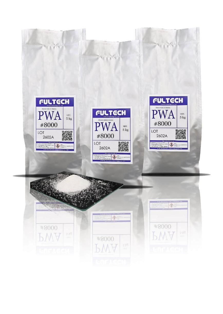Logo Gleitschliff-Verfahrensmittel - Platelet Calcined Alumina (PWA)