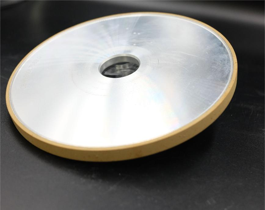 Logo Schleif- und Polierscheibe und -band - Resinoid CBN straight grinding