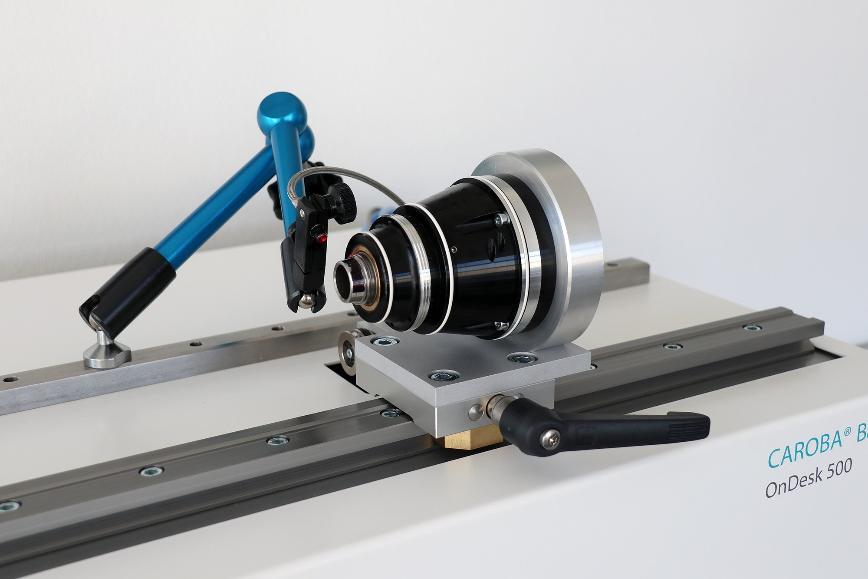 Logo Balancing machine - CAROBA® Balancer OnDesk 500