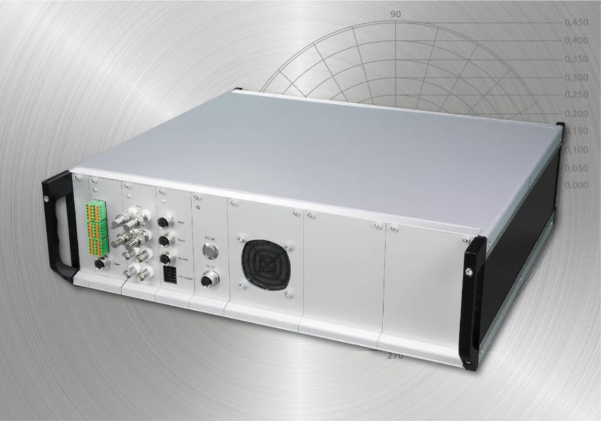 Logo Electronic unbalance measuring and control equipment - CAROBA® UMS
