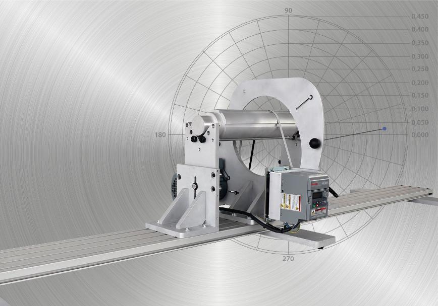 Logo Balancing machine - CAROBA® Balancer LongShafts