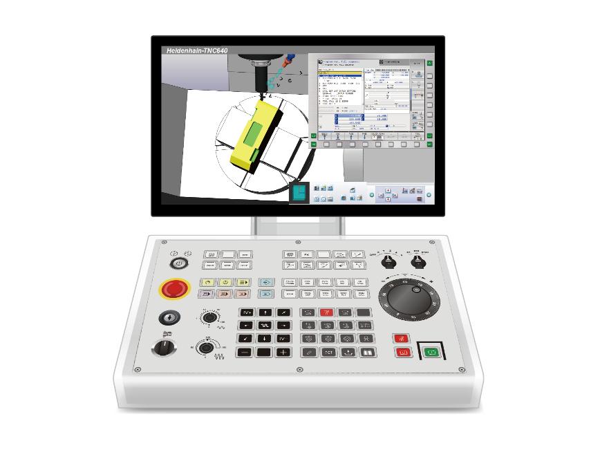 Logo CNC Desktop Operation Simulation System(Simulator)