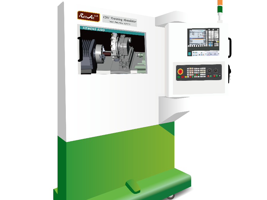 Logo CNC Training Simulator-Siemens 828D Turning/Lathe