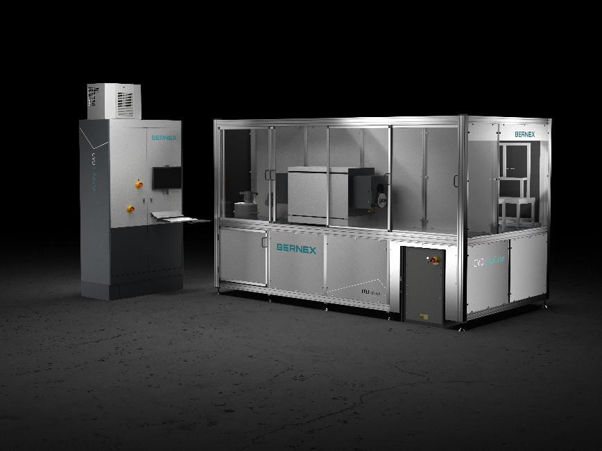 Logo CVD-Beschichtungsanlage - BERNEX CVD LabTube - Swiss CVD  Solutions