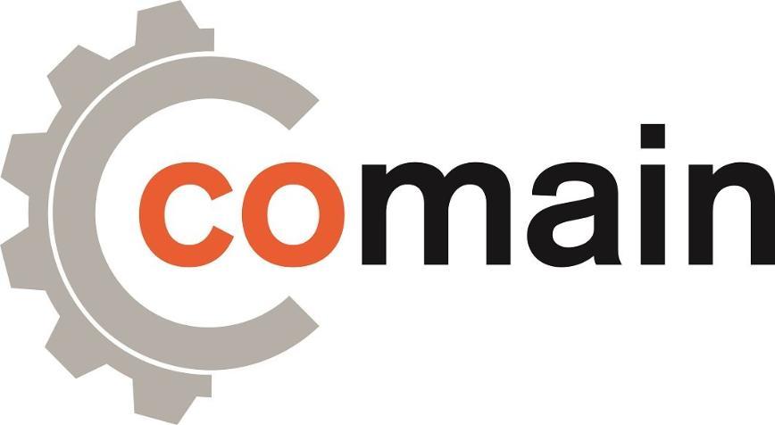 Logo Maintenance software for technical equipment - comain.cloud