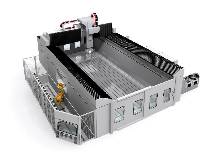 Logo high speed machining centre - Droop+Rein FOGS/FOGS D40