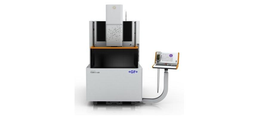 Logo Senkerodiermaschine - AgieCharmilles FORM X 400/600