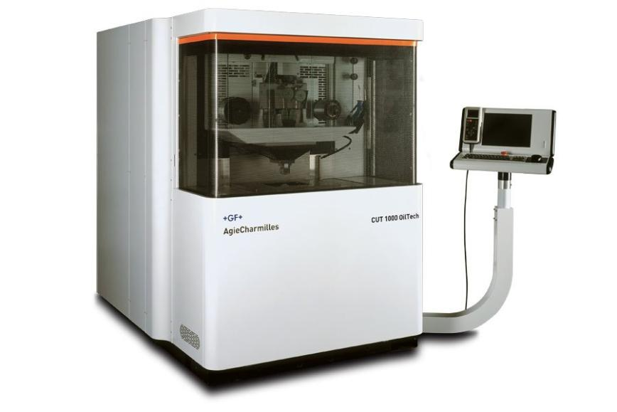 Logo Wire spark erosion machine - AgieCharmilles CUT 1000/2000 OilTech