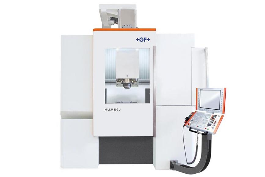 Logo High speed machining centre - Mikron HPM 800U