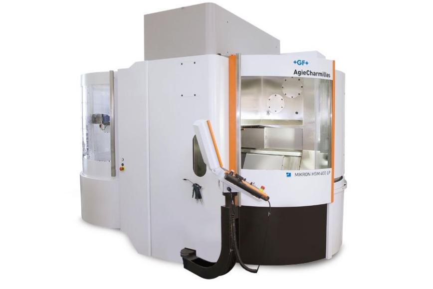 Logo High speed machining centre - Mikron Mill S 400