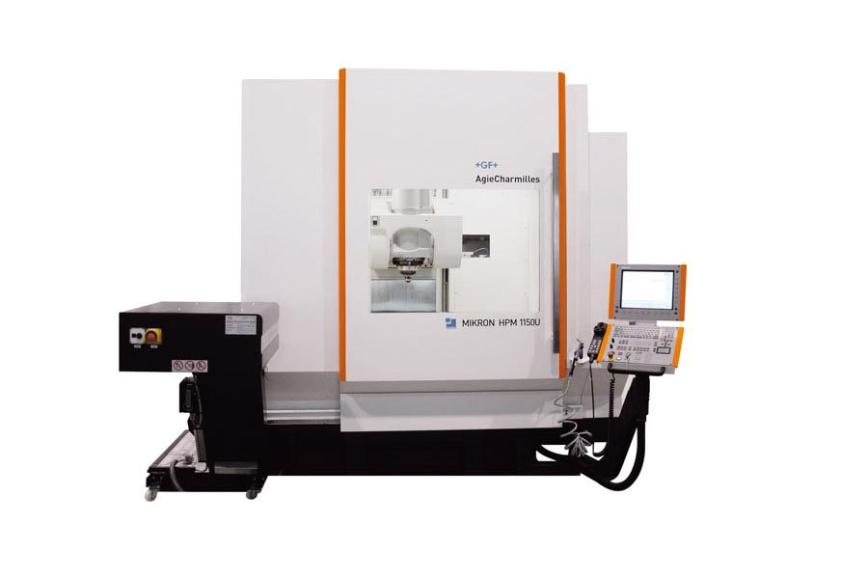 Logo High speed machining centre - Mikron HPM 1150U
