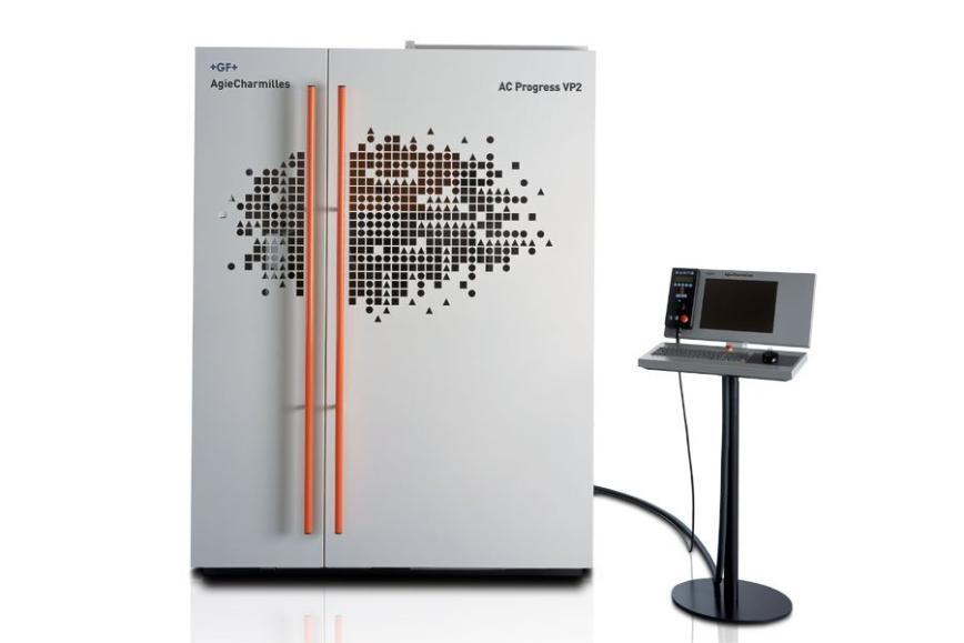 Logo Drahterodiermaschine - AgieCharmilles AC Progress VP2