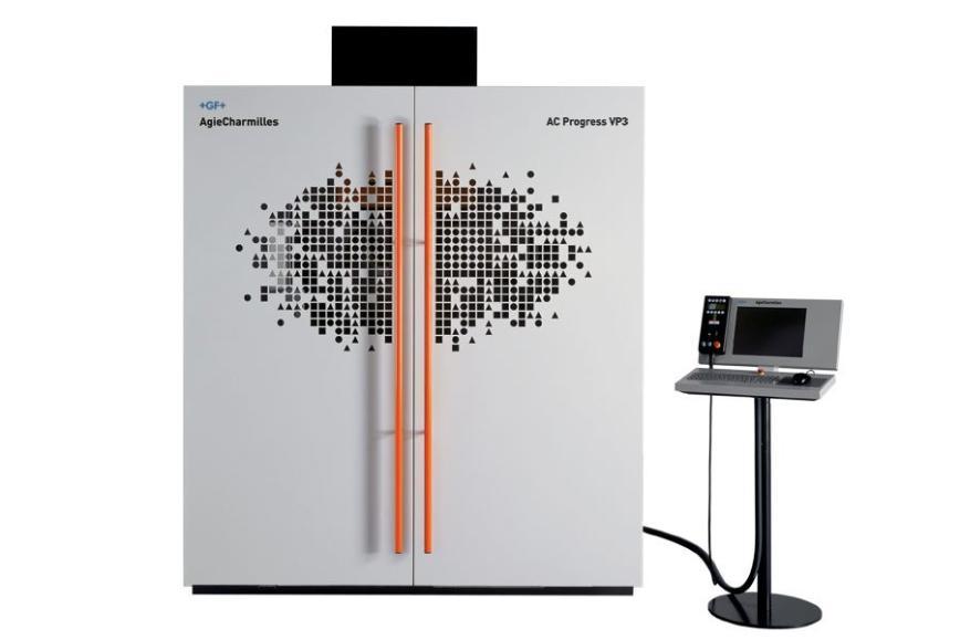 Logo Wire spark erosion machine - AgieCharmilles AC Progress VP3