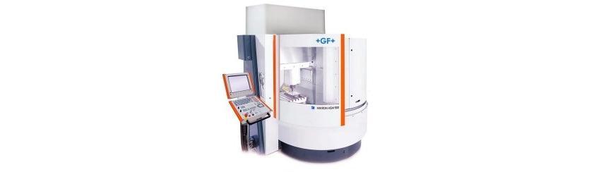 Logo High speed machining centre - Mikron HSM 500
