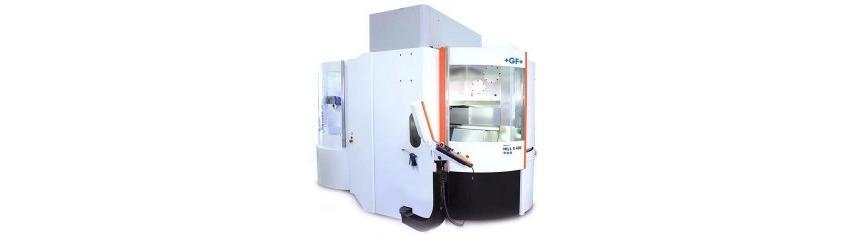 Logo High speed machining centre - Mikron MILL X 400