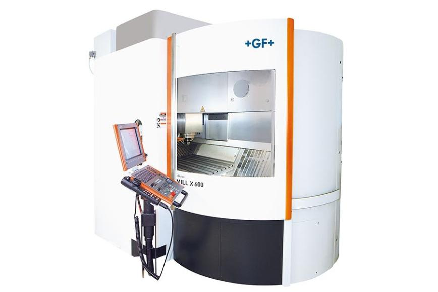 Logo High speed machining centre - Mikron XSM 600 LP