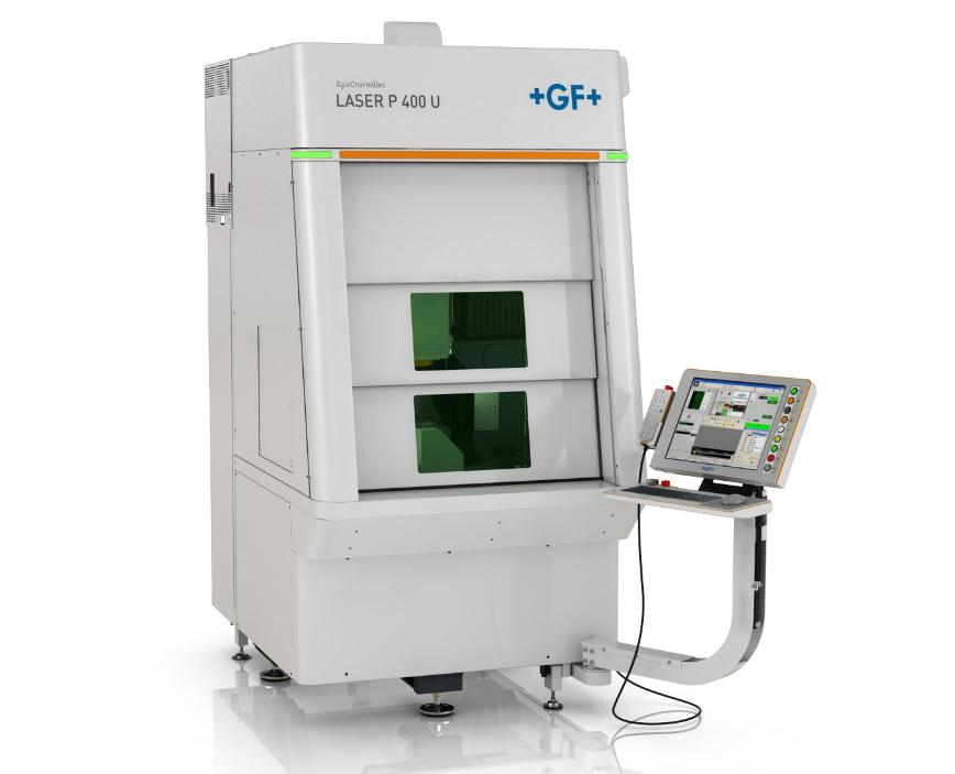 Logo Laser eroding machine - AgieCharmilles Laser P 400