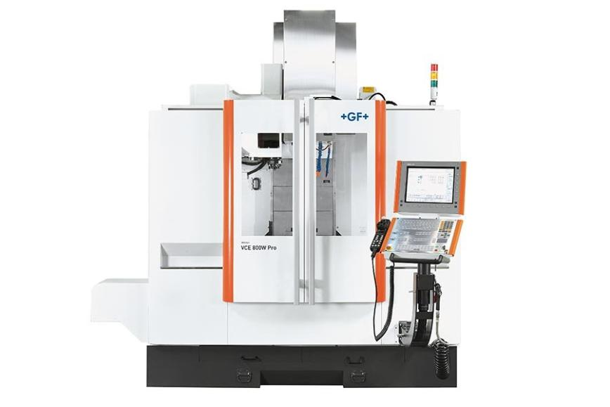 Logo Universal machining centre - Mikron VCE 800W Pro