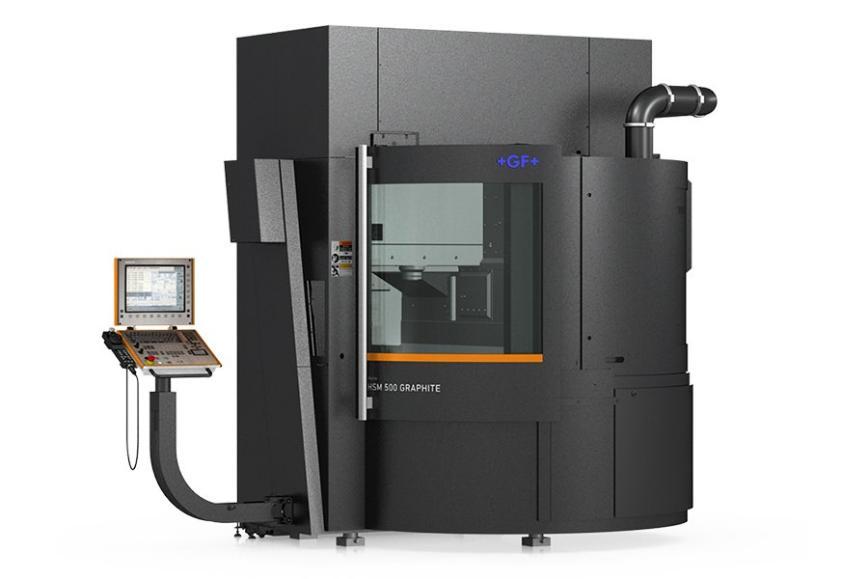 Logo High speed machining centre - Mikron HSM 500 Graphite