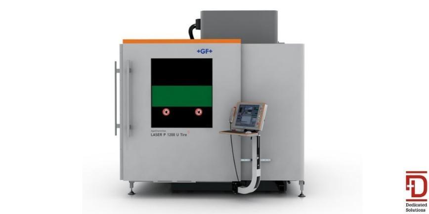 Logo Laser eroding machine - AgieCharmilles LASER P 1200 U Dedicated
