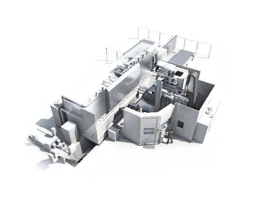 Logo 5-axis machining centre - Scharmann ECOFORCE Ti