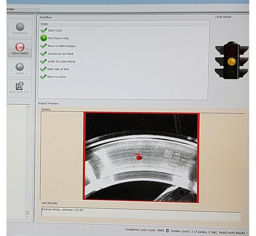 Logo Aerospace Rotatives Robotic Marking Cell