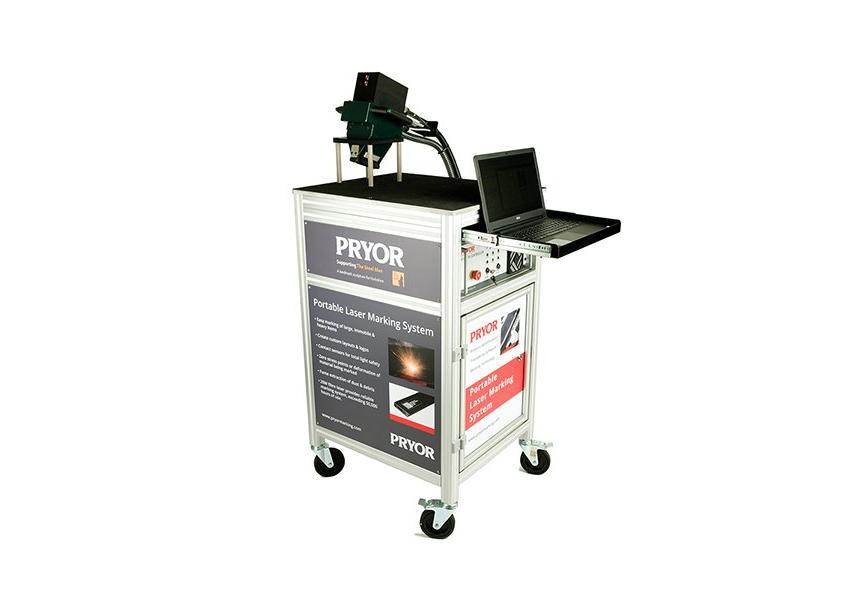 Logo Laserbeschriftungsmaschine - Portable Laser