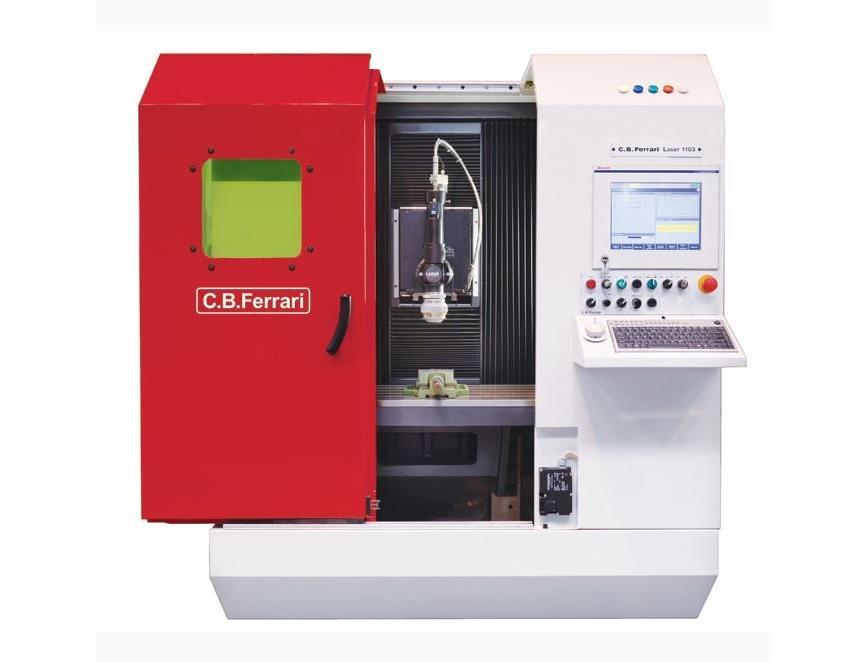 Logo Laser-Abtragmaschine - Laser 1100
