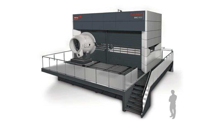 Logo Horizontal machining centre - Heckert BHC 3500 / 4500 / 5500