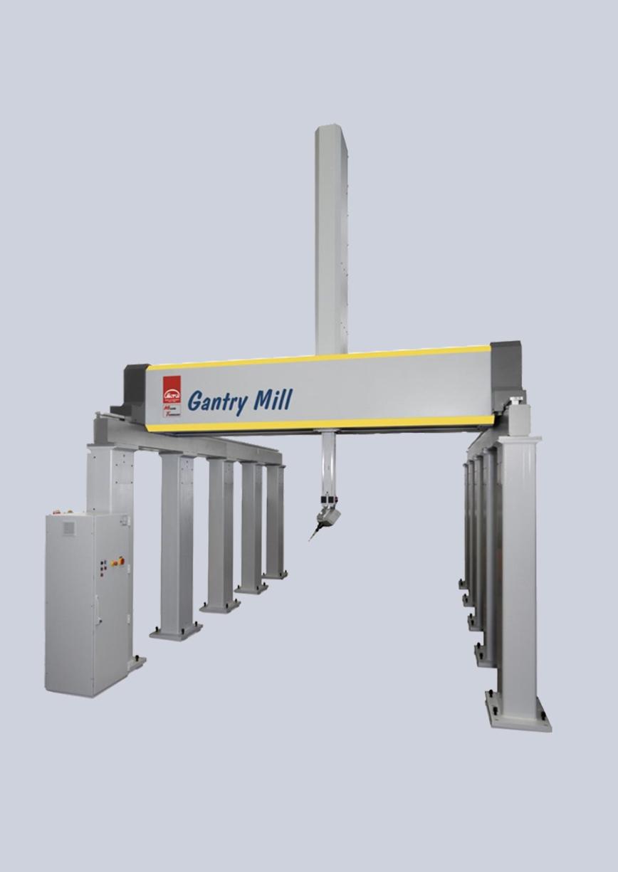 Logo Gantry Mill Designfräsmaschine
