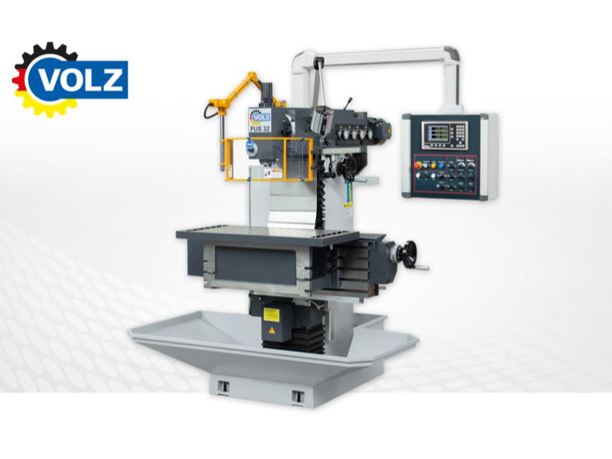 Logo Werkzeugfräsmaschine - Made in Germany - VOLZ FUS 32-SERVO