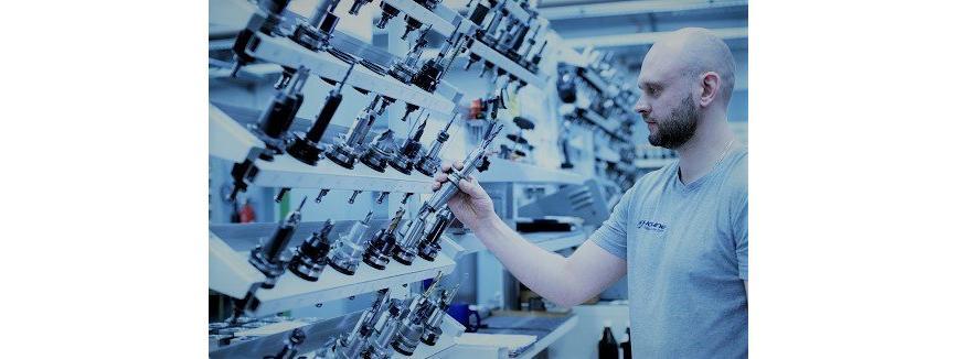 Logo Shopfloor-Werkzeugmanagement - Pottmanager auf Werkstattebene